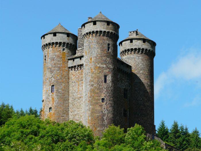 Tournemire château d'Anjony